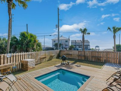 Photo for Bare Feet! Pool - Grill - Outdoor dining - Steps from the Beach - Beach Views
