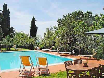 Photo for Villa del Nibbio: A characteristic and welcoming two-story age-old farm house located in an isolated position, on the slopes of a hill which is covered with olive groves, with Free WI-FI.
