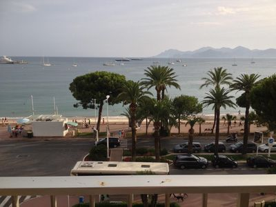 Photo for Beautiful apartment 70m2 sea view one bedroom and convertible