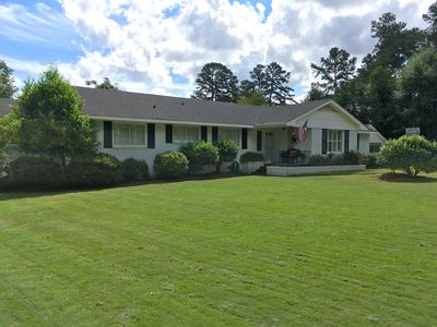 Photo for Charming, 5 br home with open floor plan less  than 3 miles from Masters