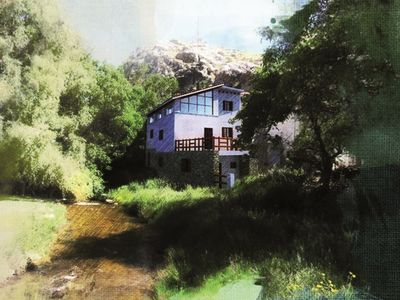 Photo for El Nacimiento rural house, GROUND FLOOR APARTMENT for 3 people