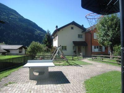 Photo for Apartment Ferienhaus Hauer in Disentis - 10 persons, 5 bedrooms