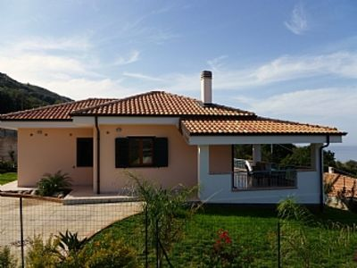 Photo for Modern, Private Detached Villa with sea view near Tropea and Zambrone Beach
