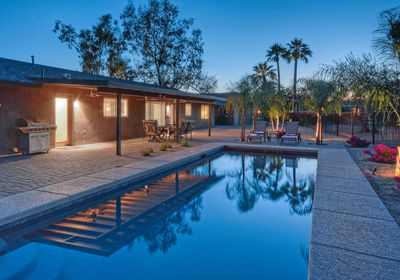 Luxurious Scottsdale Golf Vista has golf course views and a private pool with optional heat