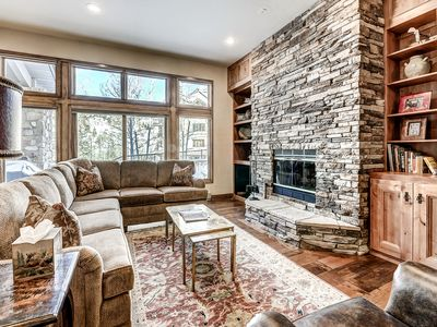 Photo for Luxurious, True Ski-In/Ski-Out Highlands Townhouse In Beaver Creek Village