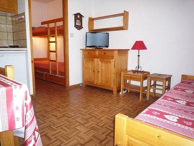 Photo for Apartment in the center of Chamonix with Parking, Internet, Balcony (114279)