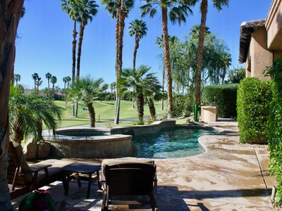 Photo for Pool Home in PGA WEST 4th Hole Nicklaus Course, Sunshine All Day Best WEst Views