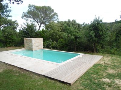 Photo for House with pool 10 minutes from the Pont du Gard and Uzes-