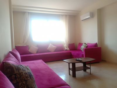 Photo for Pink apartment 6 people