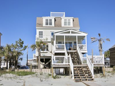 Photo for **FREE LINENS** DISCOUNTED RATES! Dempsey Cottage: 5 Bdrm Oceanfront