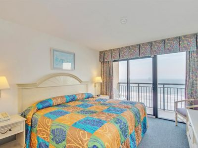 Photo for Magnificent OceanFront Views from this 8th floor Suite! Direct Ocean Front View