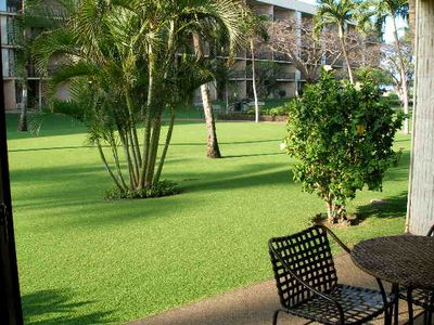 Photo for Summer Special!  Maui Sunset 105A ~ 1 BR, 2 BA Ground Floor Condo!