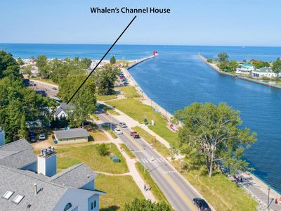 Photo for Waterfront, Lake & Channel Views, Best Location on Grand Haven Channel