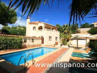 Photo for Large villa in Calpe with pool and air conditioning on the Costa Blanca