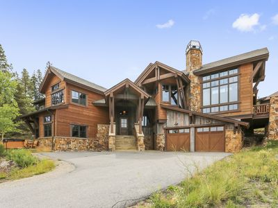 Photo for Luxury Highlands Home with STUNNING Views of the Ten Mile Range!