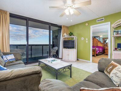 Photo for Direct Oceanfront - Pools, Tennis, Game Room - Golden Sands (109th St)