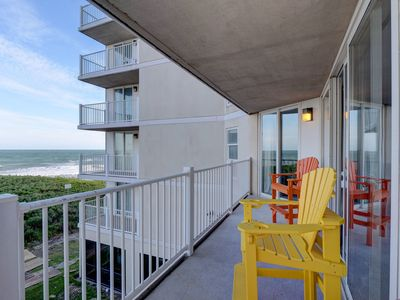 Photo for Oceanfront Condo, newly updated, views of the ocean, wine fridge