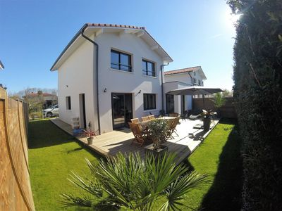 Photo for NEW HOUSE 110 m² - 8 PEOPLE - 8mn beaches Hossegor / Capbreton / Seignosse