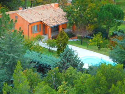 Photo for LA PITCHOUNE - Charming House - Private Pool - Ocher View