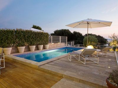 Photo for Luxury Beachfront Villa with Heated Pool and Sea View - Adriatic Luxury Villas