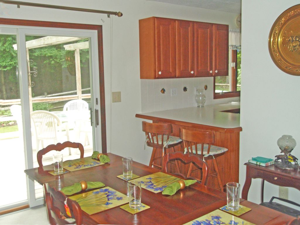 Dining And Open Kitchen Counter Pass Through.