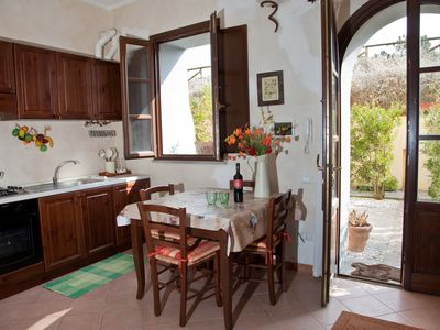 Photo for Village location - restaurant -  private parking - WiFi - 30 mins to the sea