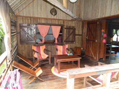 Photo for Traditional house rosewood on the island with mats