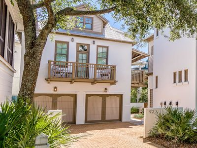 """Photo for """"Nageotte Carriage"""" South Side 30A Rosemary Beach Carriage House 1 Min to Beach!"""