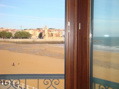 Photo for Housing in Gijón facing the sea