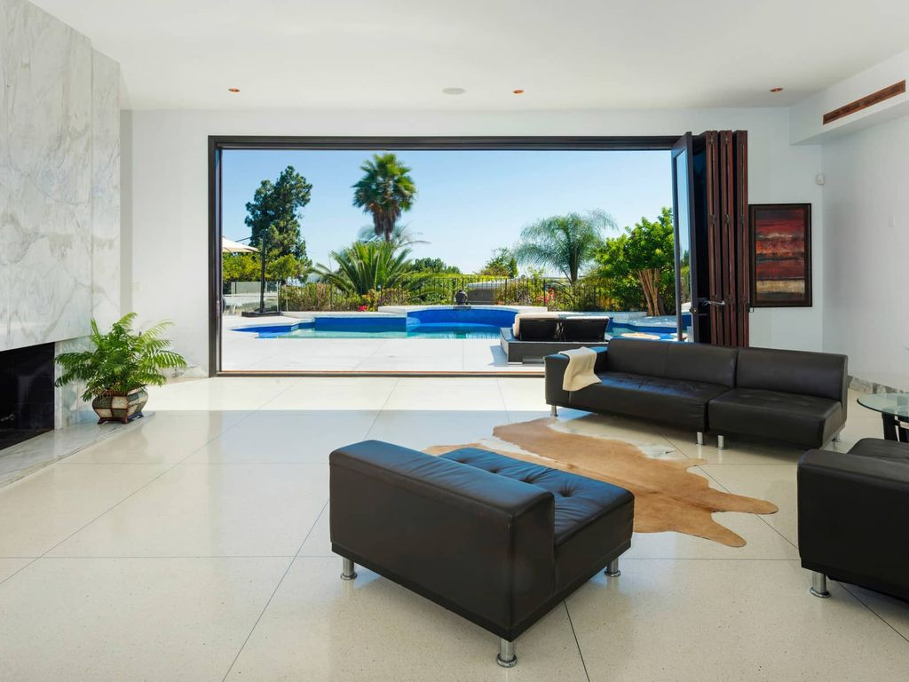 Eclectic Beverly Hills Luxury Estate with Private Pool, Firepit, Nice City Views