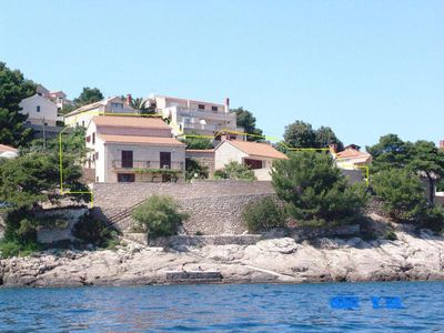 Photo for Apartment in Puntinak (Brač), capacity 4+1