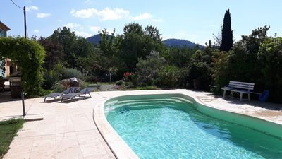 Photo for 35 m2 apartment in Provencal farmhouse