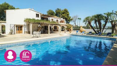 Photo for RUSTIC MEDITERRANEAN STYLE 6 / 8P. VILLA. RECENTLY REFURBISHED WITH PRIVATE POOL