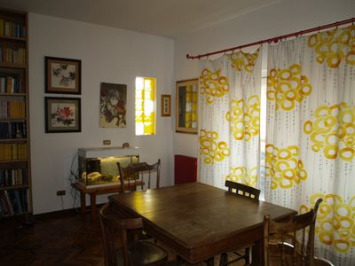 Photo for Independent apartment with panoramic veranda and garden