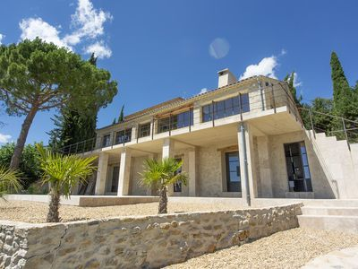 Photo for Holiday home with private pool, La Bastide de Brayet.