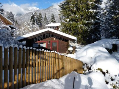 Photo for Vacation home 3-Zimmer Blockhaus (GMP241) in Garmisch-Partenkirchen - 4 persons, 2 bedrooms