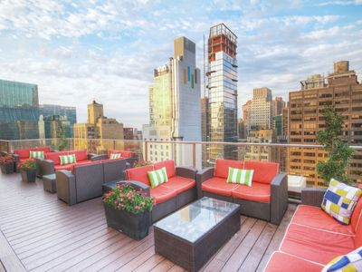 Photo for One Bedroom Deluxe Condo in New York City - Close to Everything