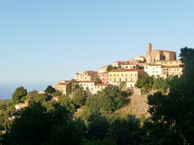 Photo for Tuscany Elba Island charming house in a typical village overlooking the sea