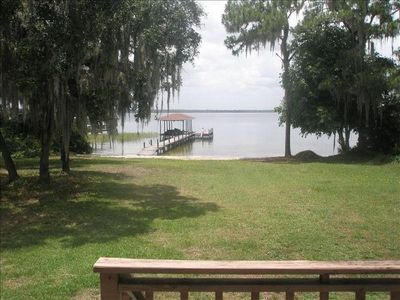 Photo for Beautiful, Completely Secluded, 3 BR/2 BA Lake June Home!