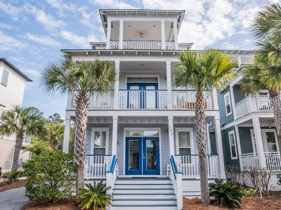 Photo for Mer Soleil, 30A Cottages, Reduced Spring Rates, Spacious Layout, Multiple Balconies, 4 bikes!