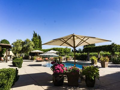 Photo for Poolside King Studio with Private Entrance in the Vineyard
