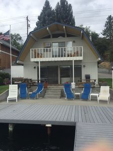 Photo for The Barn at The Lake; Waterfront Home within Chelan's 'Golden Mile'!