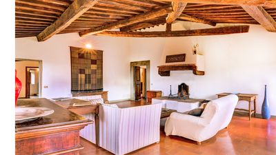 Photo for Villa Petra is a beautiful villa with swimming pool in the heart of the Chianti
