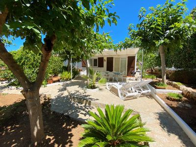 Photo for Villa with private garden and 10 minute walk from beach