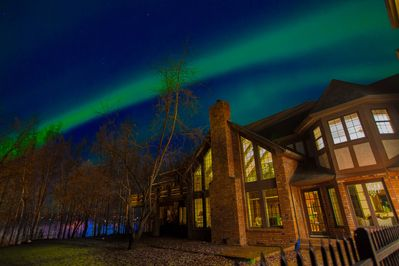 Northern Lights in the Fall