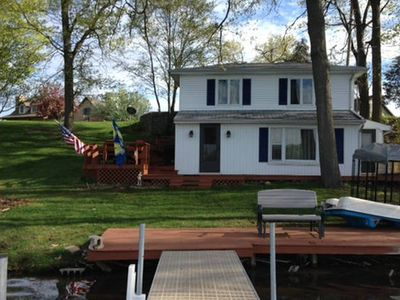 Photo for 2Bed, 2FULL bath on one of the cleanest fishing lakes in indiana