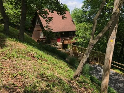 The Chalet Shenandoah Valley Getaway W Hot Tub Near Luray Va Rileyville