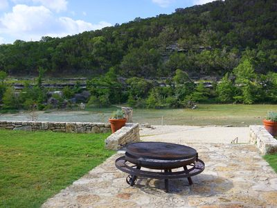 Photo for Relaxation awaits you. Open spaces throughout! The Blanco River welcomes you.
