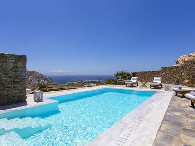 Photo for Sea View Villa Mykonos