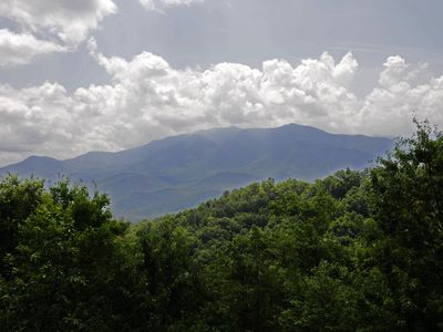 Photo for 2 Bedroom, Spectacular Mt. LeConte View, Hot Tub, Pool Table, 2 Whirlpools